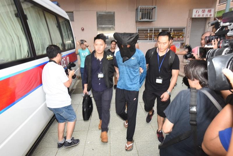 一名涉案南亞裔色狼被捕。