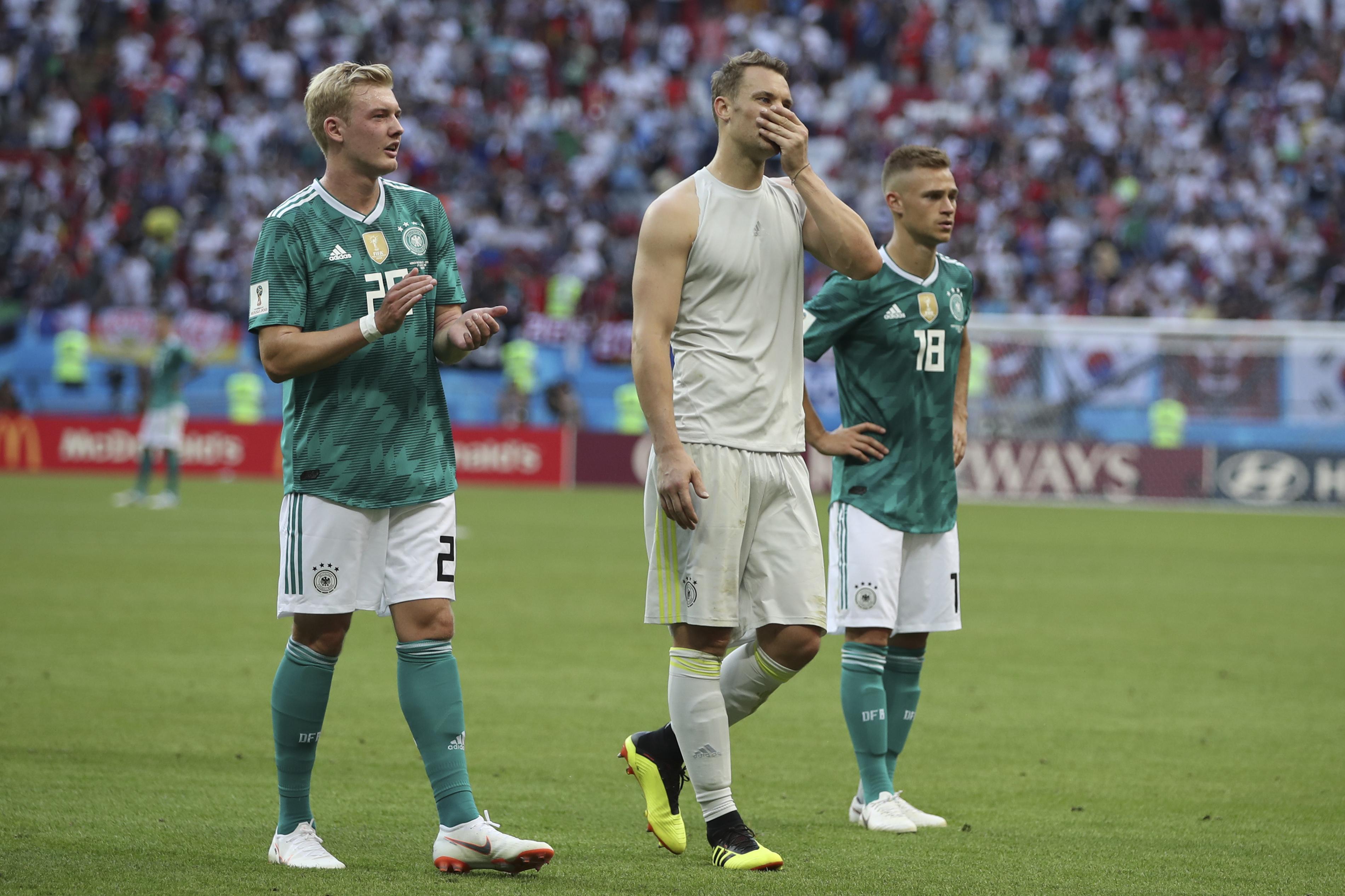德國分組賽一勝兩負包尾出局。AP