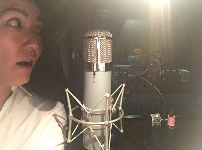 阿田昨夜將錄音照放上網
