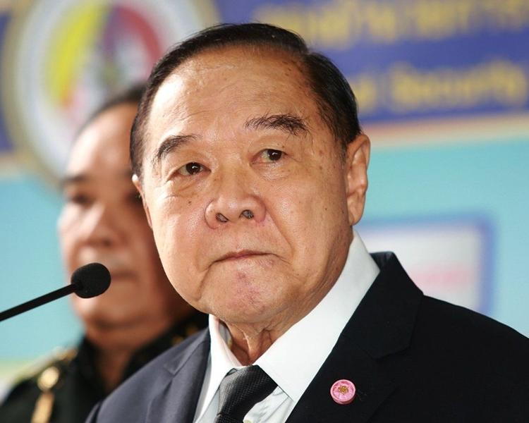 泰國副總理普拉威。網圖