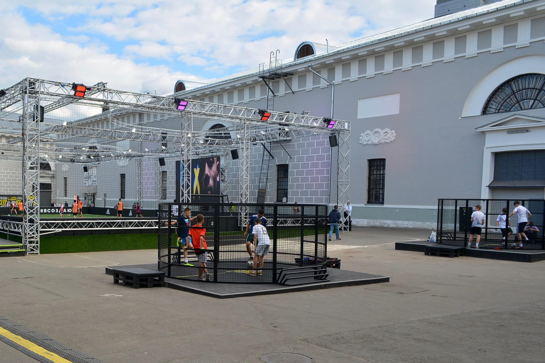 莫斯科博物館和體動品牌合作舉辦運動基地,活化古蹟亦推動體育。
