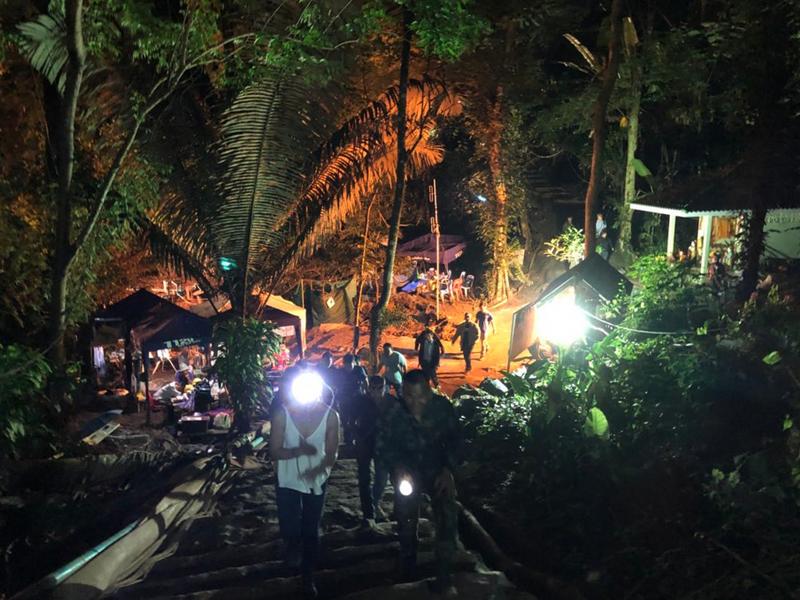 泰國當局今天將會進行第3階段的拯救行動。 (網圖)