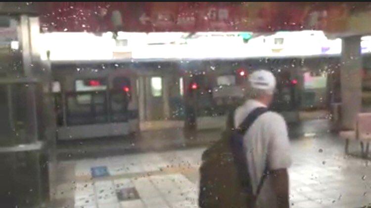 台北石牌捷運站傳爆炸聲。網上圖片
