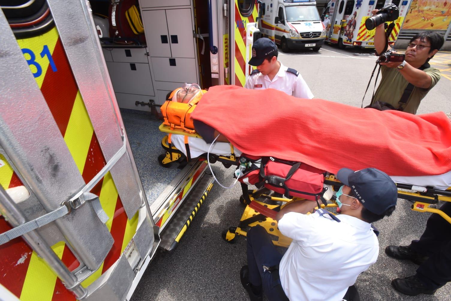 電單車司機重傷送院