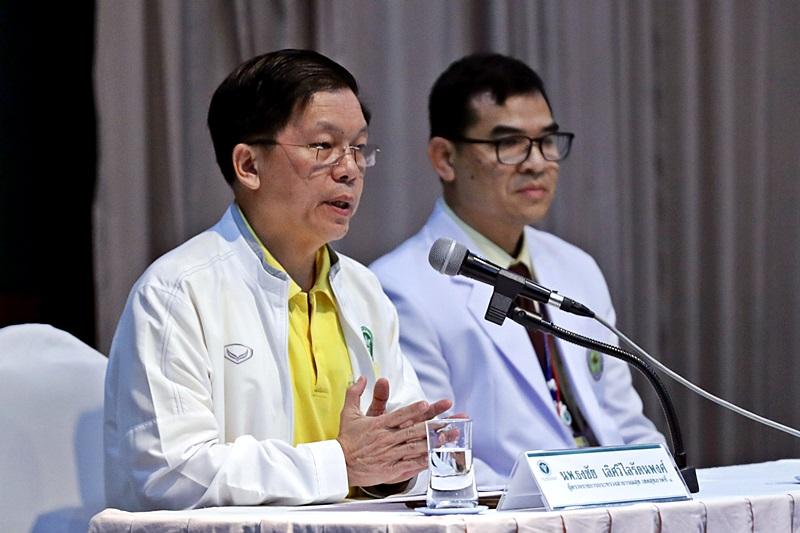 泰國衛生當局交代少足隊身體情況。AP