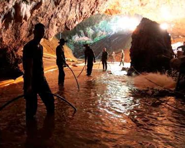 泰國官員表示,是次營救任務令睡美人洞聞名於世。AP