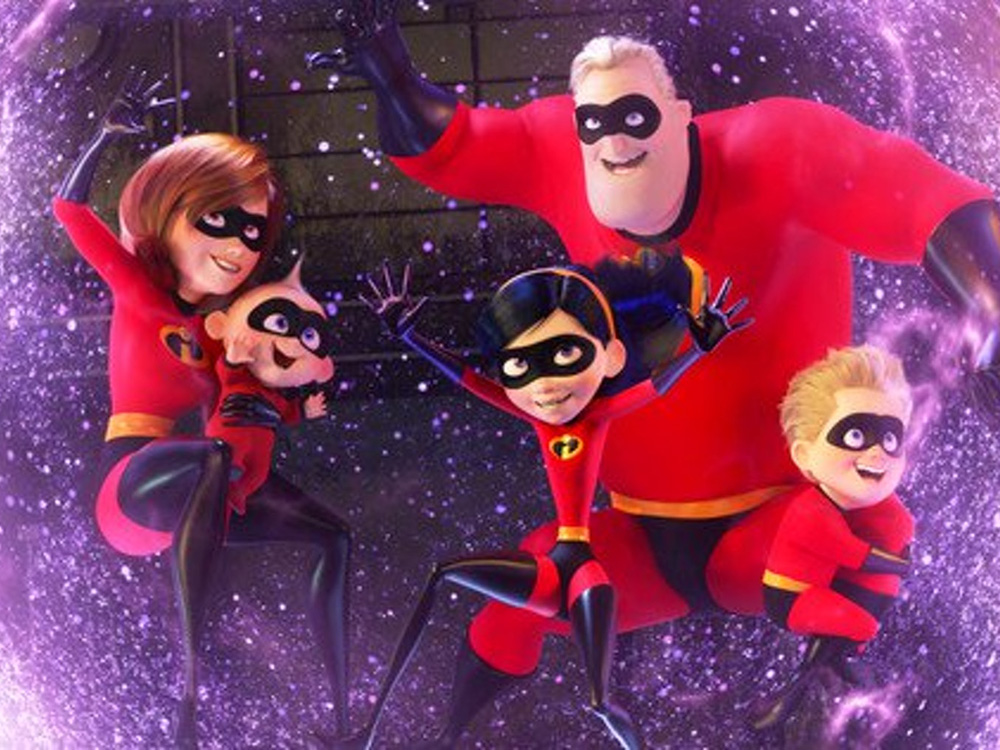 《超人特工隊2》成為美國史上最賣座動畫,超越《海底奇兵2》的成績。