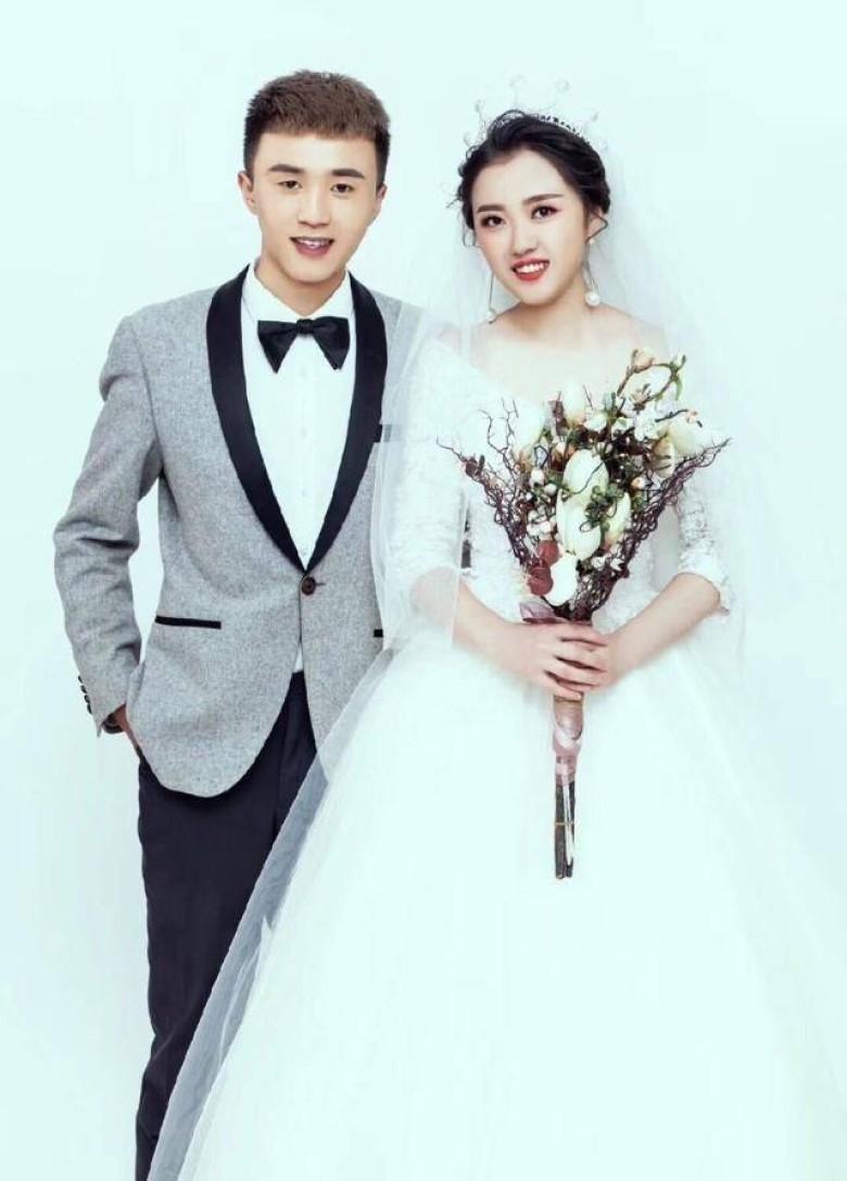 高浩珍結婚照。(網圖)