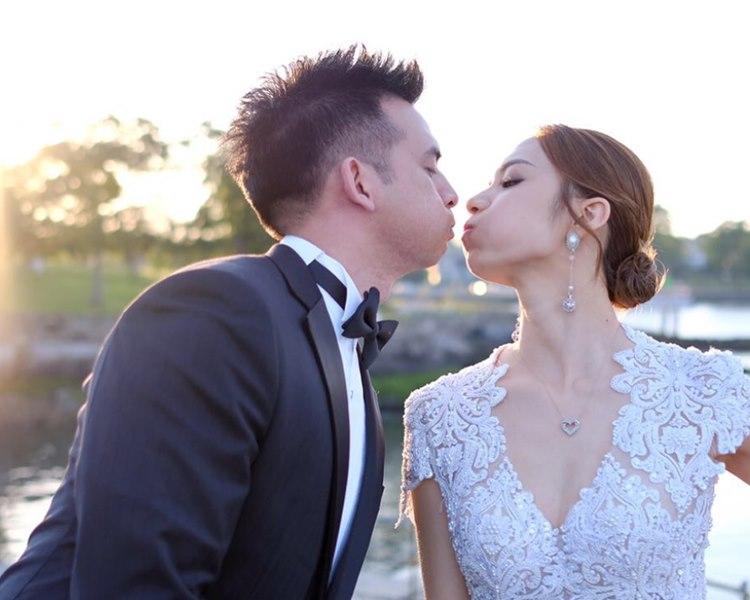 王君馨慶祝結婚1周年及拍拖13周年。