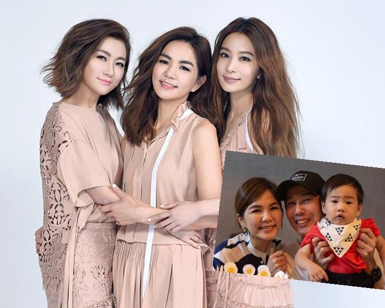 Ella在10月約滿華研,似乎真的是與老公拍住上搞好娛樂公司。