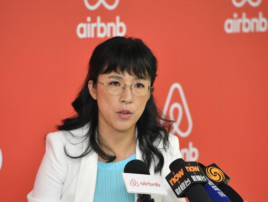 Airbnb香港暨台灣公共政策總監蔡文宜。