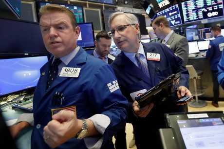 美股三大指數上升。AP