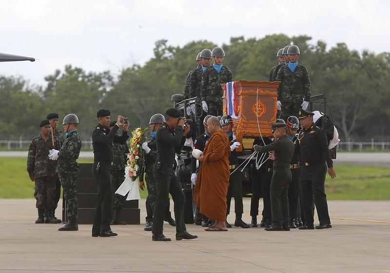 沙曼遺體日前已運抵家鄉。美聯社