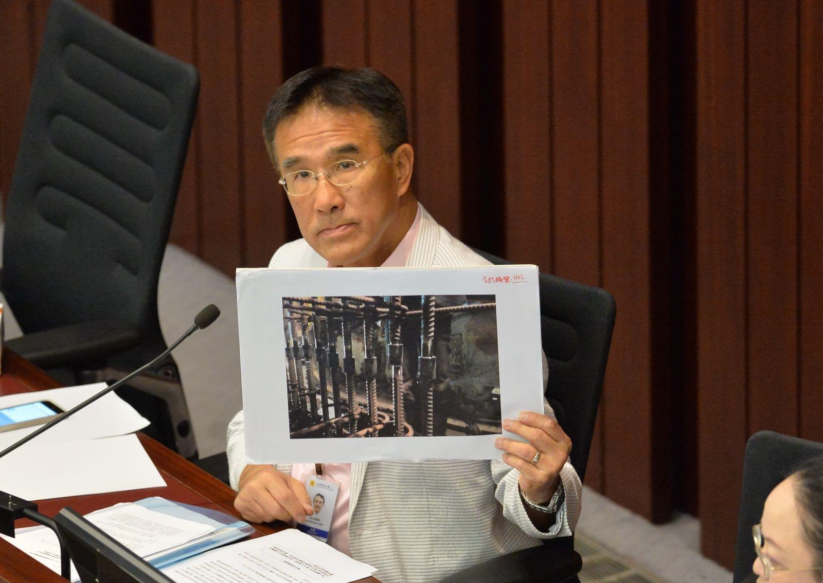 田北辰提醒議員提問時盡量中性。