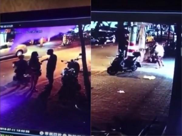 中國南京一名巴基斯坦留學生帶中國女友行經街頭,與一名東北藉男子發生口角後,被斬死。(網圖)