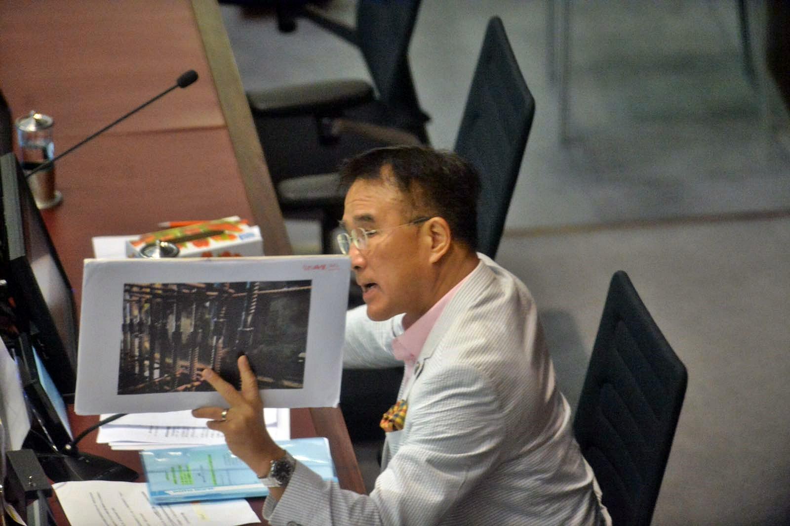 立法會議員田北辰。