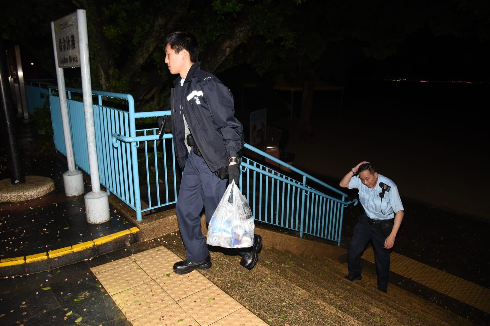警方檢獲部分物品。