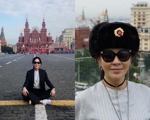 【世盃狂熱】唔見梁朝偉 劉嘉玲赴莫斯科感受熱潮