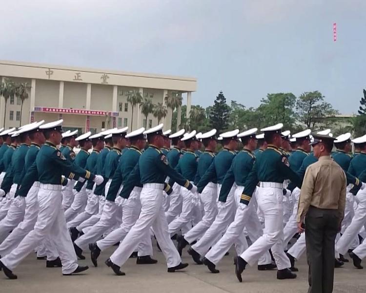 台灣中正國防幹部預備學校。網圖