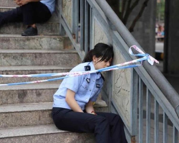 方秋蘊對於自己的照片在網路爆紅感到驚訝。新華社