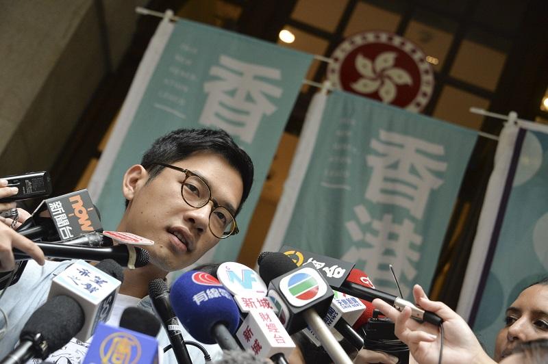 羅冠聰譴責政府的做法,認為嚴重侵害港人的言論和結社自由,漠視人權。資料圖片