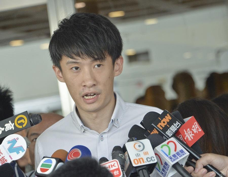 梁頌恆曾一度考慮為青年新政申請清盤。資料圖片