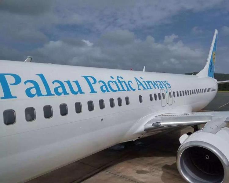 科羅爾來往香港的航線,來回票價由800減至300美元。Palau Pacific Airways fb圖片