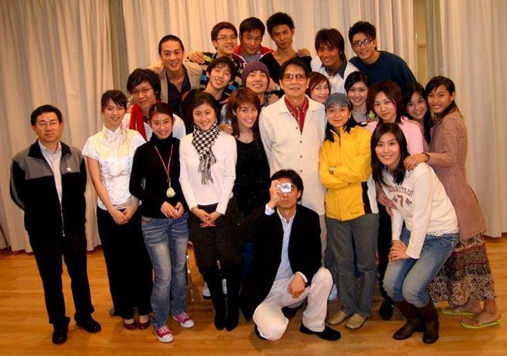 Jason貼上當年TVB藝員訓練班2006的大合照。(ig圖片)