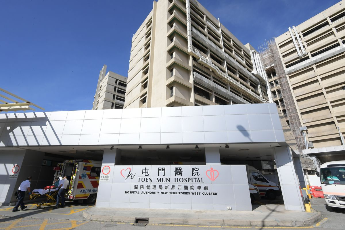 屯門醫院一名男嬰在分娩時被醫生割傷頭部,十小時後才獲縫合處理。資料圖片