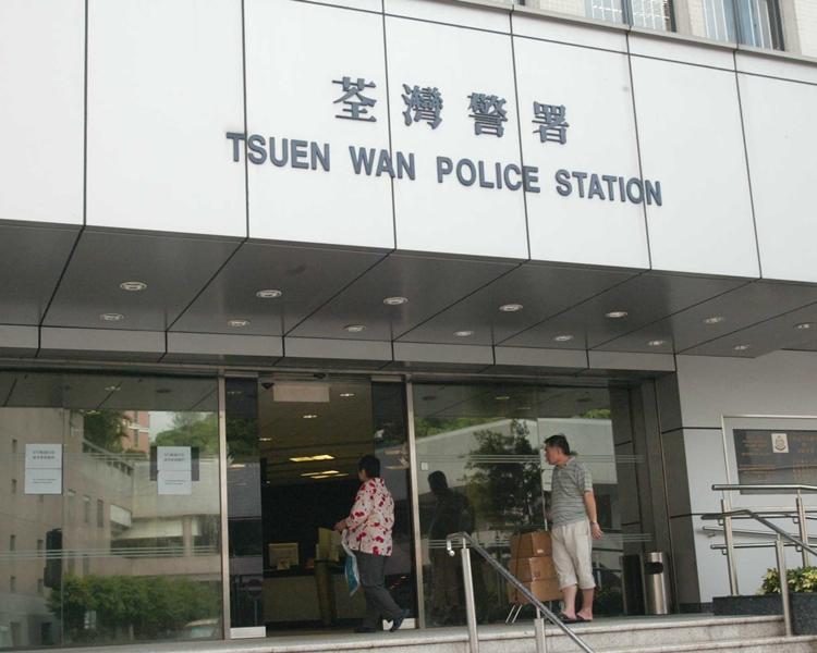 警荃灣工廈起11氣槍,兩男子涉藏仿製槍被捕。資料圖片