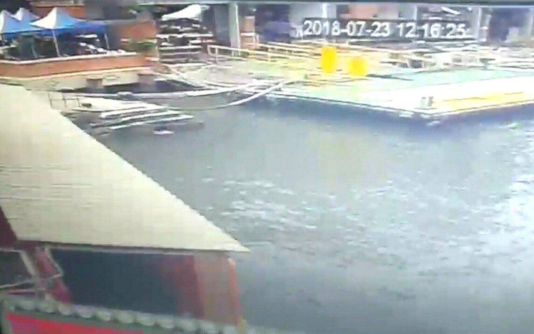 高雄旗津渡輪站發現一具男童浮屍。網上圖片