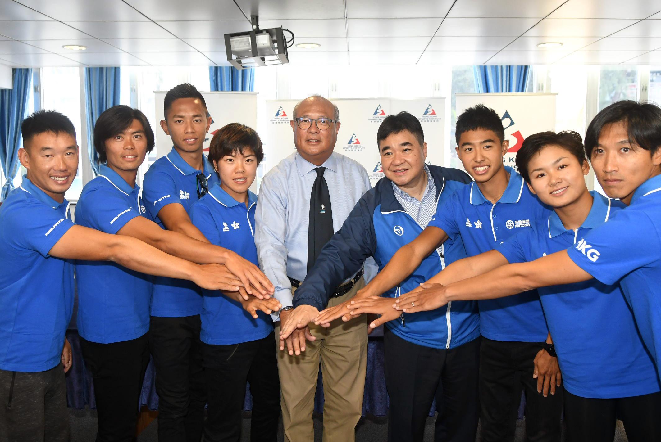 香港滑浪風帆隊望延續歷屆佳績,全力爭勝。郭晉朗攝