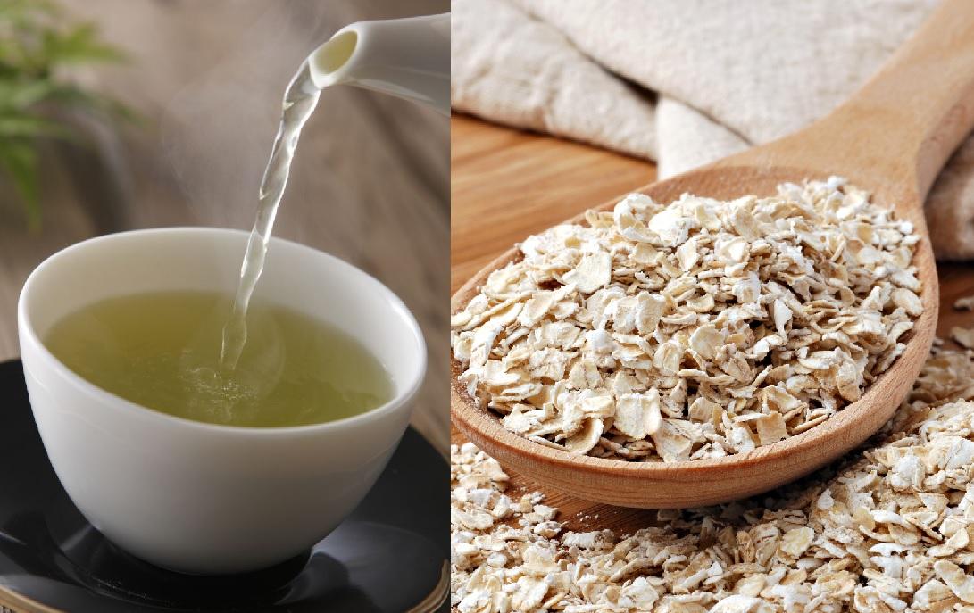 綠茶和燕麥都有助降膽固醇,但營養師建議將後者取代白飯,作為一餐之主食。網圖