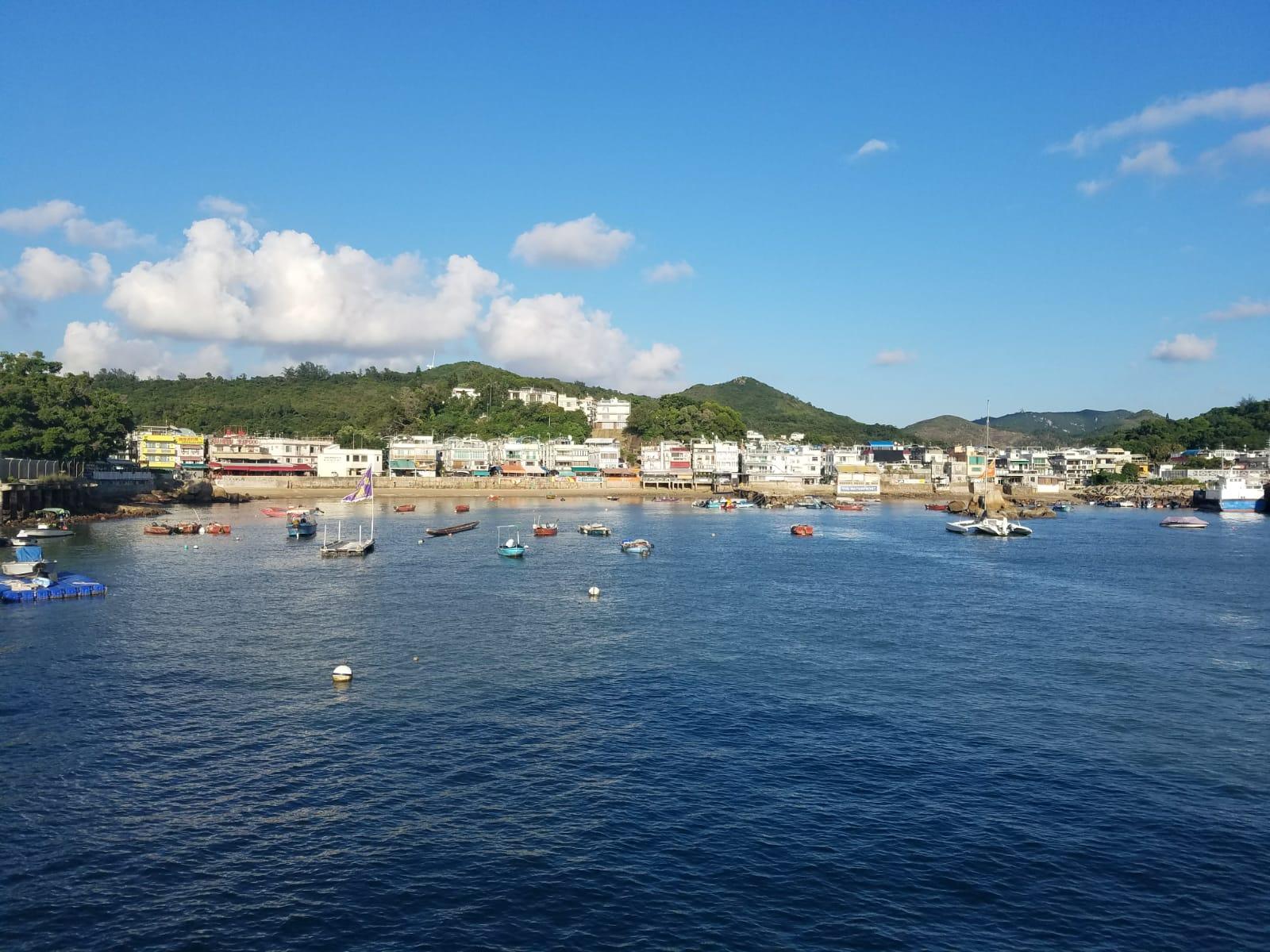 南丫島發生撞船意外