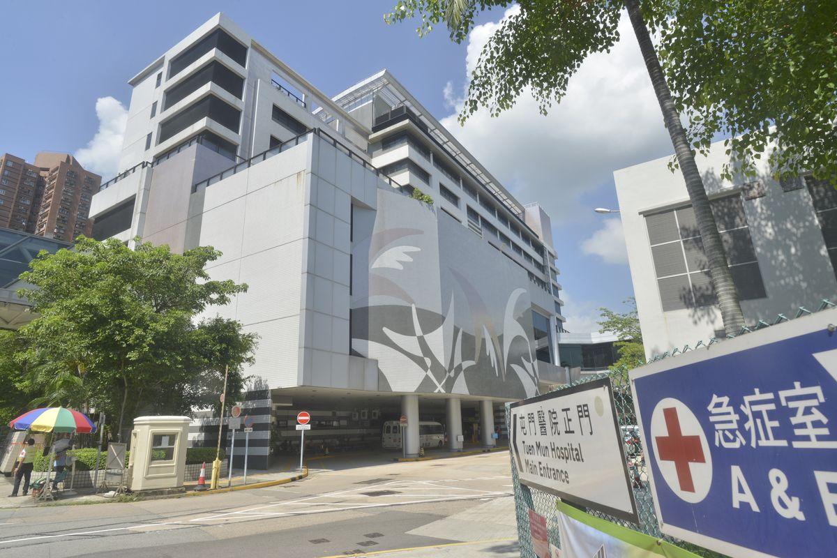 屯門醫院3名男病人確診帶有耐多藥鮑氏不動桿菌。資料圖片