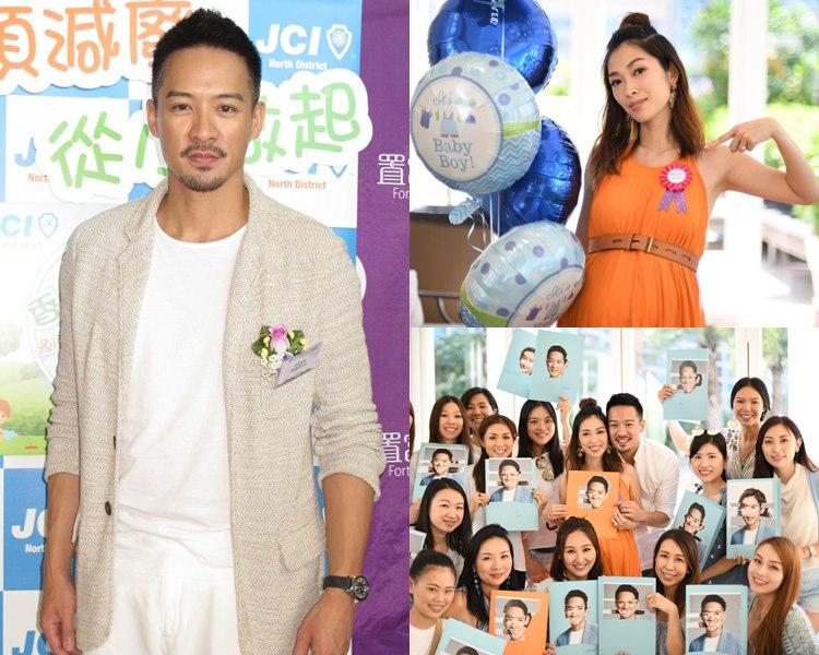陳智燊離巢後親自接Job唔怕被壓價;昨日宋熙年開產前派對,他最驚老婆太粗勞。