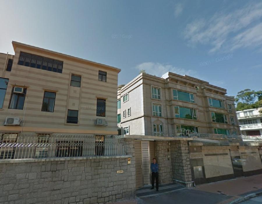 九龍塘一豪宅。網圖