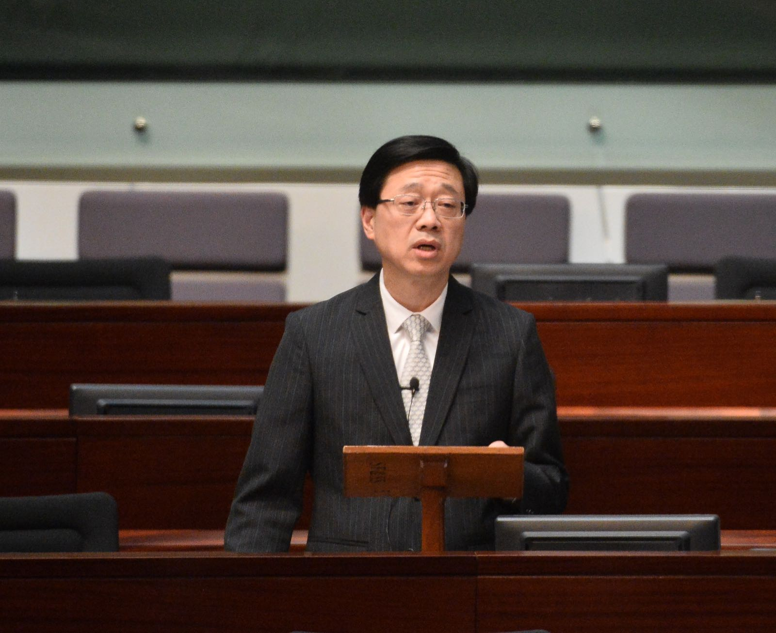 保安局決定將香港民族黨申述期延長至49天。資料圖片