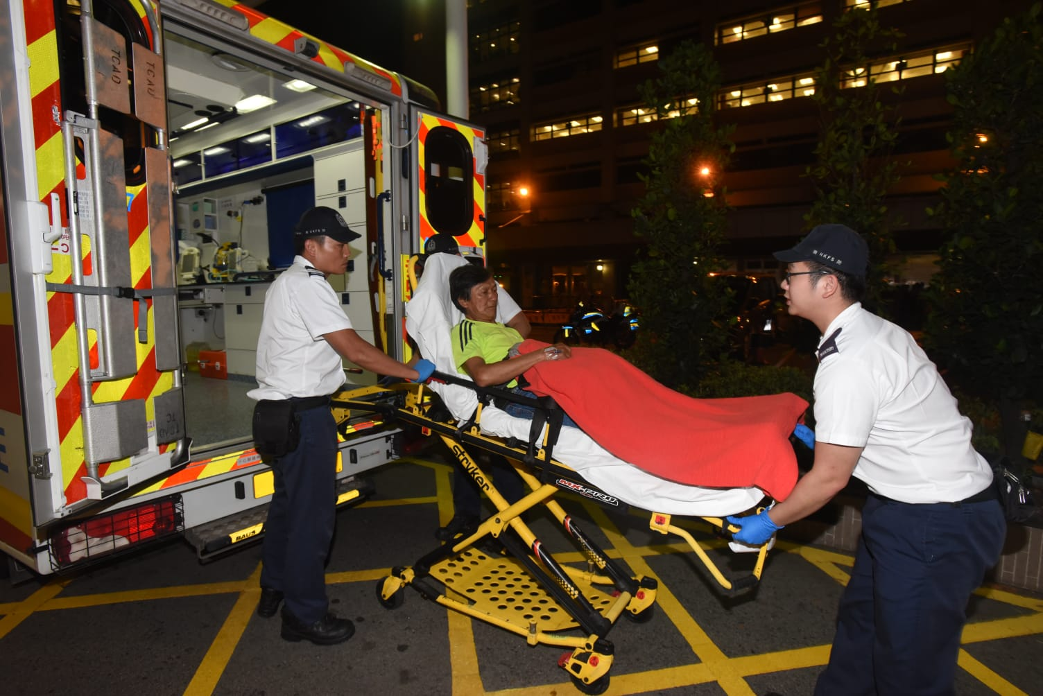 男司機轉出瑪嘉烈醫院治理。徐裕民攝