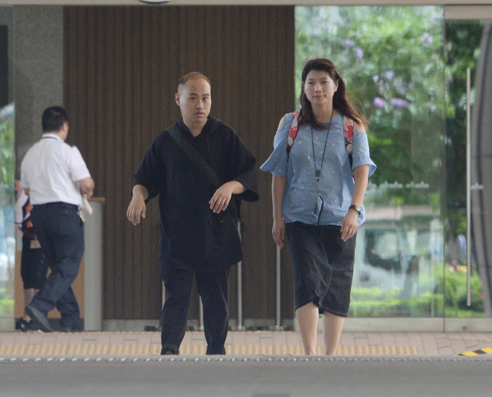 邱兆鴻的社會服務令報告正面及一致,王官接納報告建議判處社會服務令。