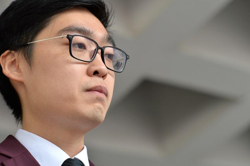 陳浩天批評北京當局打壓言論自由,更扼殺外國傳媒的新聞自由。資料圖片