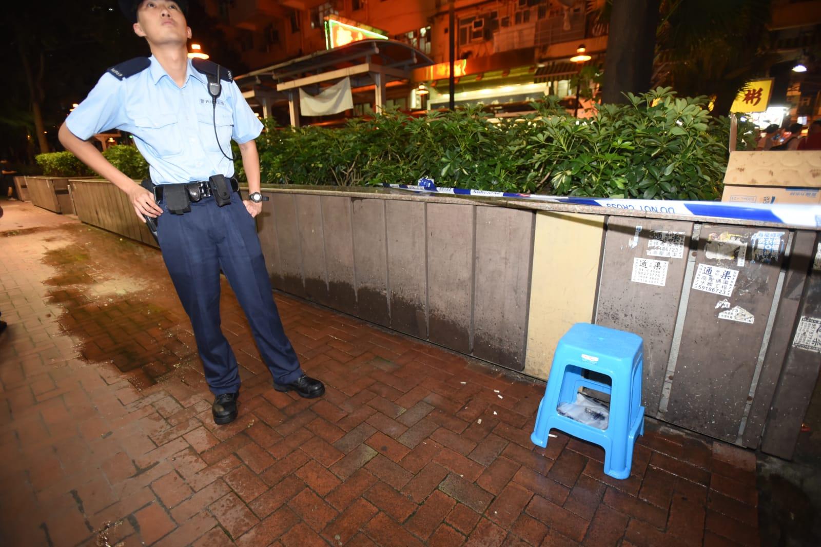 警員封鎖現場調查