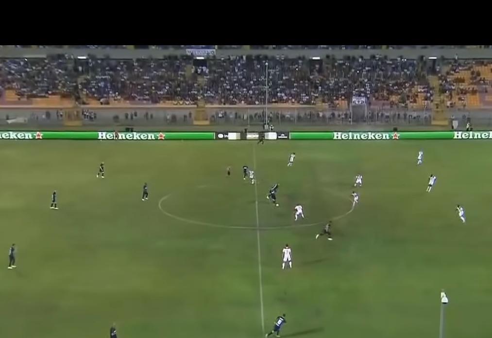 國際米蘭以1:0擊敗里昂。網上截圖
