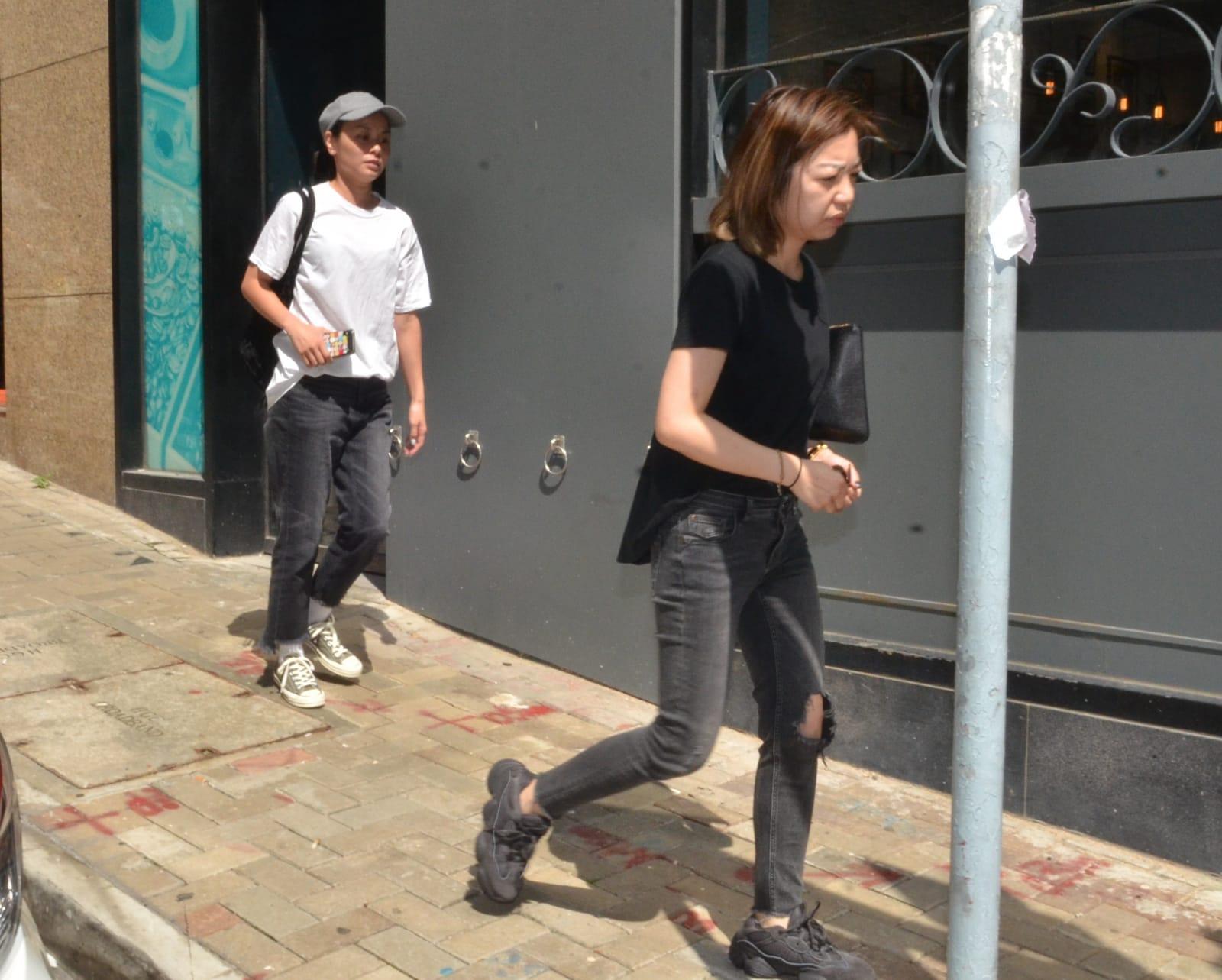 盧凱彤唱片公司職員到場了解情況後離去。