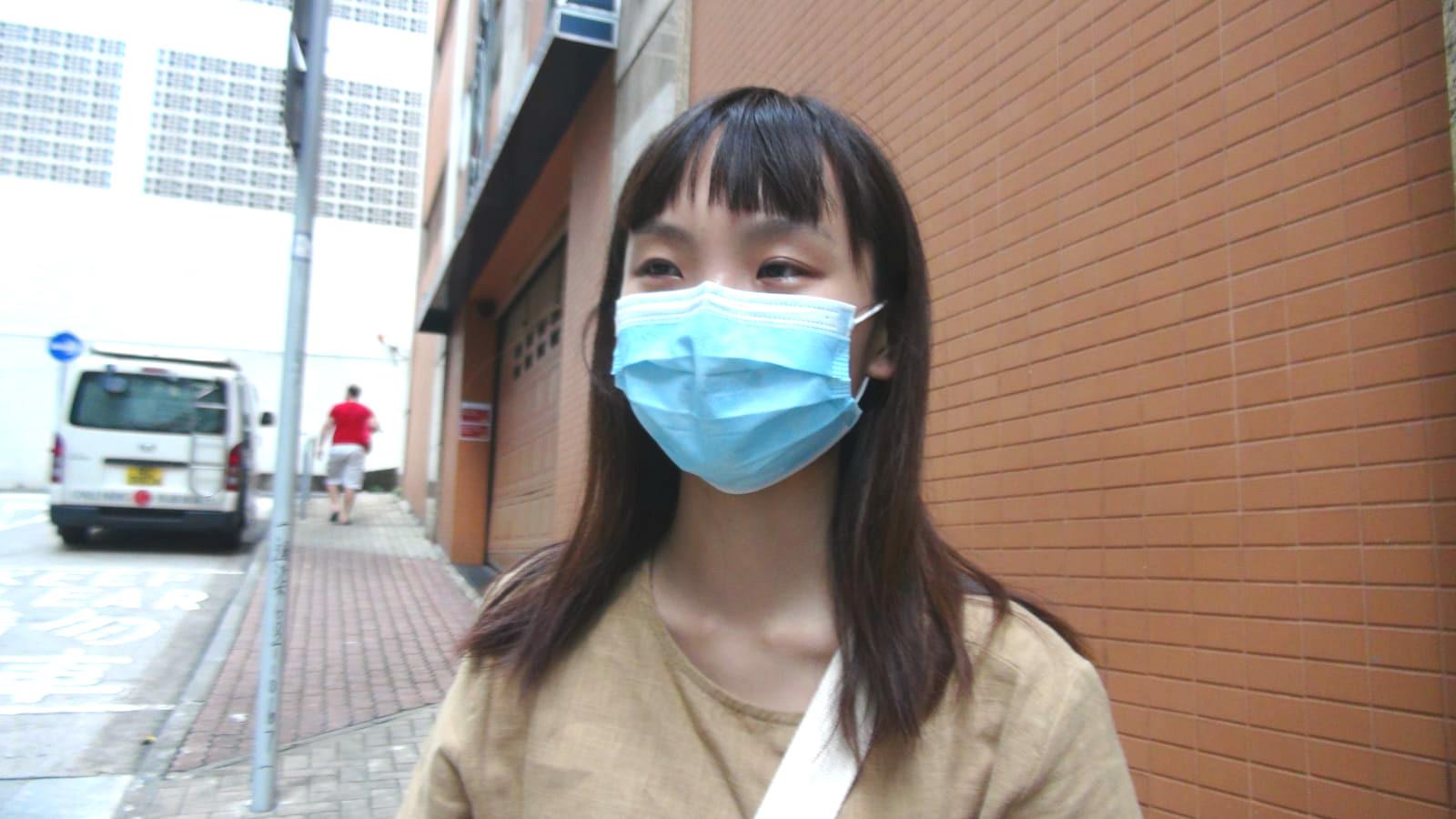 楊小姐感謝盧凱彤曾拍片鼓勵她考DSE