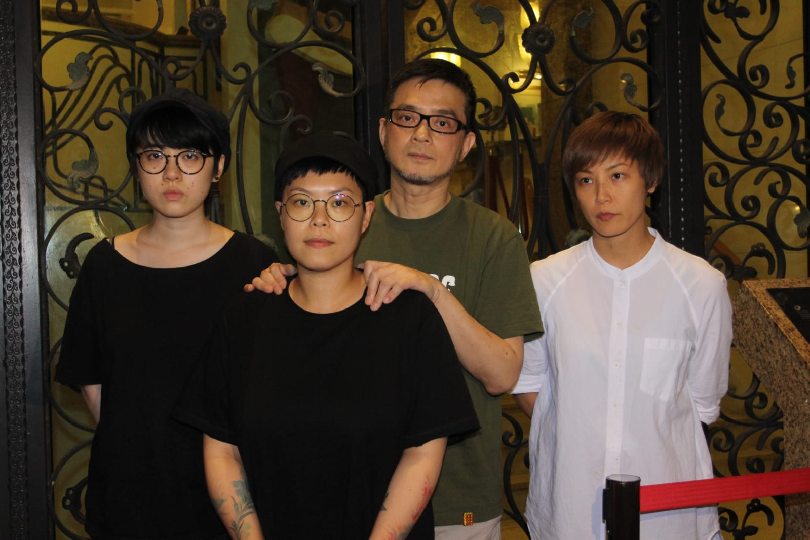 林二汶、黃耀明、何韻詩交代盧凱彤的身後事。