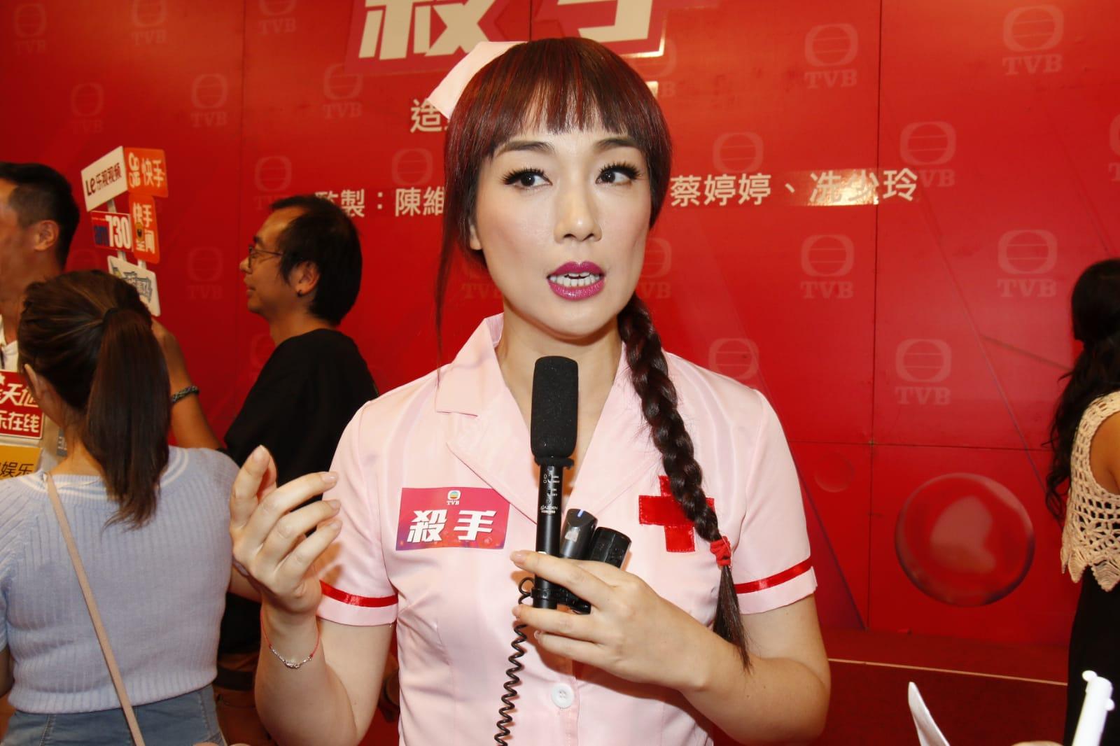 江美儀拍完新劇轉部頭合約。