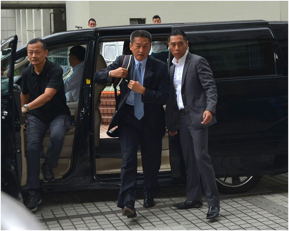 朱經緯今早約9時多抵達法庭。