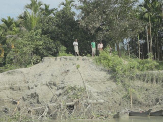 阿薩姆(Assam)是全球最大的河流島。 網圖
