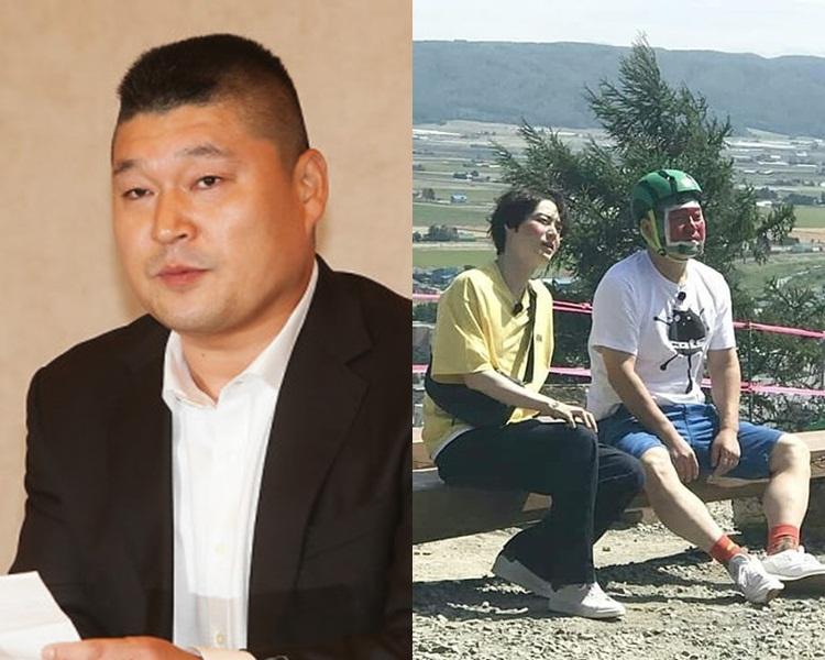 姜虎東在北海道與安宰賢出外景拍攝,今早接獲噩耗後已趕回國。(網圖)